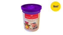 Faber-Castell - Faber Castell Oyun Hamuru 110gr Mor