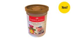 Faber-Castell - Faber Castell Oyun Hamuru Açık Kahve