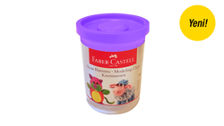 Faber-Castell - Faber Castell Oyun Hamuru Pastel Mor