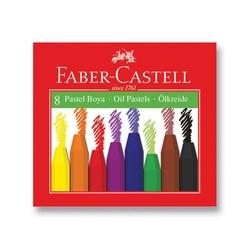 Faber-Castell - Faber Castell Redline Pastel Boya 8'li
