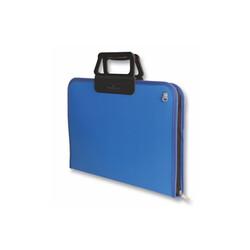 Faber-Castell - Faber Castell Proje Çantası 28x38 cm Mavi