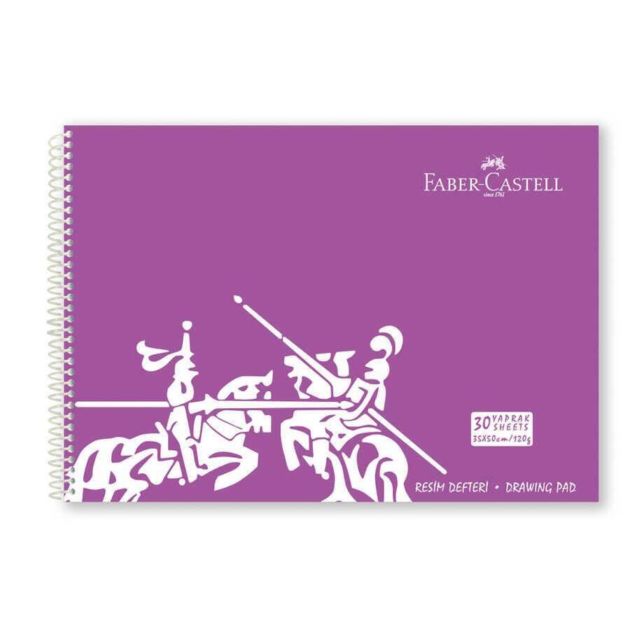 Faber Castell Resim Defteri 35x50 cm 30 Yaprak 120 gr