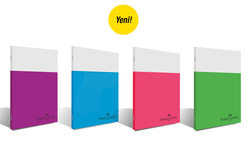 Faber Castell Smart Dikişli Plastik Kapak Çizgili Defter A4 100 Yaprak - Thumbnail