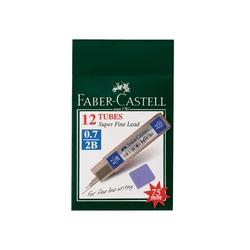 Faber-Castell - Faber Castell Super Fine Min 0.5 mm 2B 75 mm