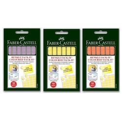 Faber-Castell - Faber Castell Tack-it 50 gr Karışık Renk