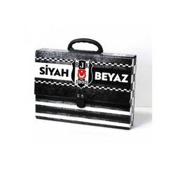 Gıpta - Gıpta Beşiktaş Saplı Çanta 25x35x7