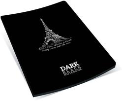 Gıpta - Gıpta Dark İplik Dikişli Karton Kapak Düz Not Defteri A5 36 Yaprak