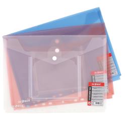 Globox - Globox Office Time Çıtçıtlı Dosya A4 Kırmızı