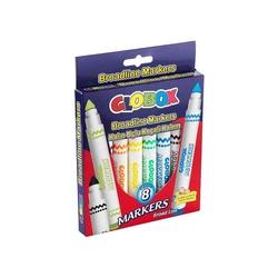 Globox - Globox Yıkanabilir Keçeli Kalem 8'li