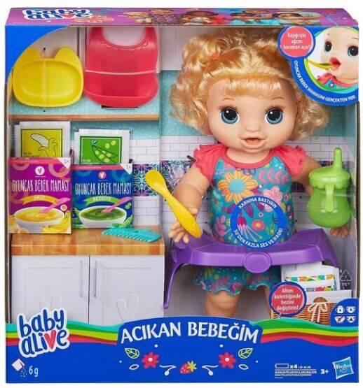 Hasbro Baby Alive Acıkan Bebeğim