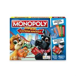 Hasbro - Hasbro E1842 Monopoly Junior Elektronik Bankacılık 6