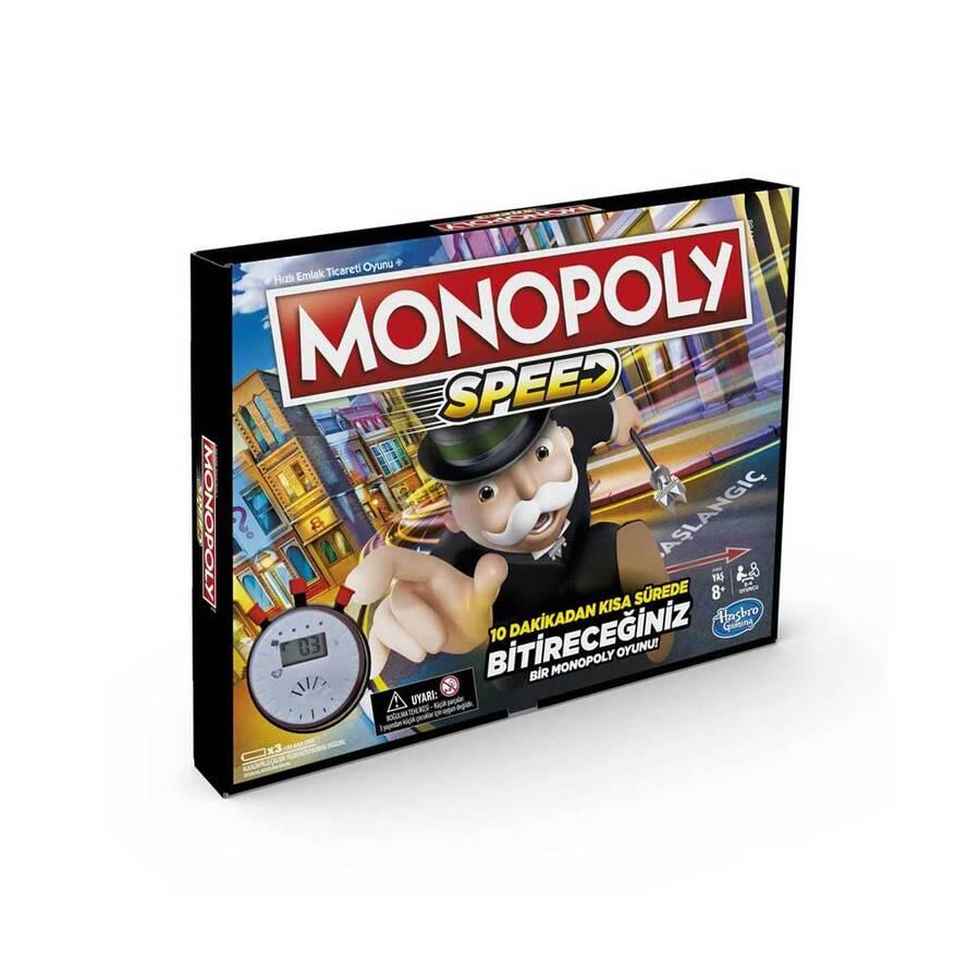 Hasbro Oyun Monopoly Speed