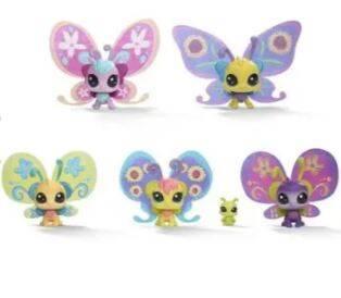 Hasbro Pets Shop Süslü Kelebek Miniş Ailesi