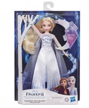 Hasbro Şarkı Söyleyen Kraliçe Elsa Frozen 2 Disney E8880