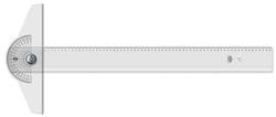 Hatas - Hatas Minkale Başlıklı İnce Bizote T Cetveli 65 cm