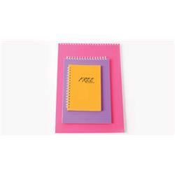 Keskin Color - Keskin Color A4 Spiralli Bloknot Free Office Düz 100 Yaprak