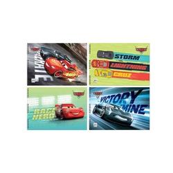 Keskin Color - Keskin Color Cars 15 Yaprak Spiralli Resim Defteri