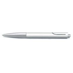 Lamy - Lamy Noto Tükenmez Kalem Mat Beyaz-Metalik Gri