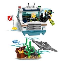 Lego - Lego City Diving Yatcht