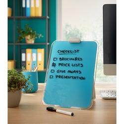 Leitz - Leitz Cosy Cam Ayaklı Sekreter Notluğu Mavi