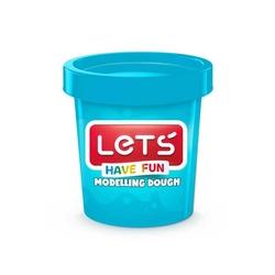 Lets - Lets Oyun Hamuru 150 gr Mavi