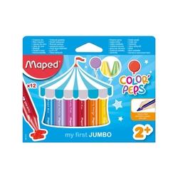 Maped - Maped Color'Peps Jumbo Mum Boya 12'li