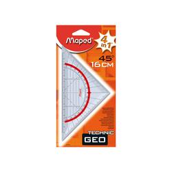 Maped - Maped Geometric Gönye 45° 16 cm