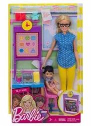 Mattel - Mattel Barbie Ben Büyünce Teacher Set