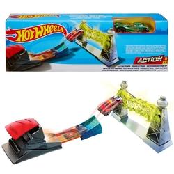 Mattel - Mattel Hot Wheels Akrobasi Atlayışı Yarış Şeti FTH79