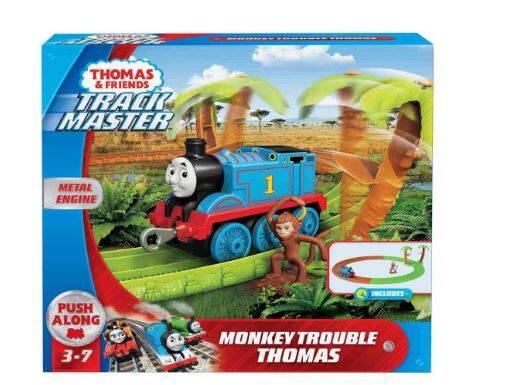 Mattel Thomas Afrika'da Oyun Seti Trenli