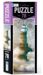 Blue Focus - Blue Focus Puzzle 78 Parça 12x29 cm Lighthouse BF233