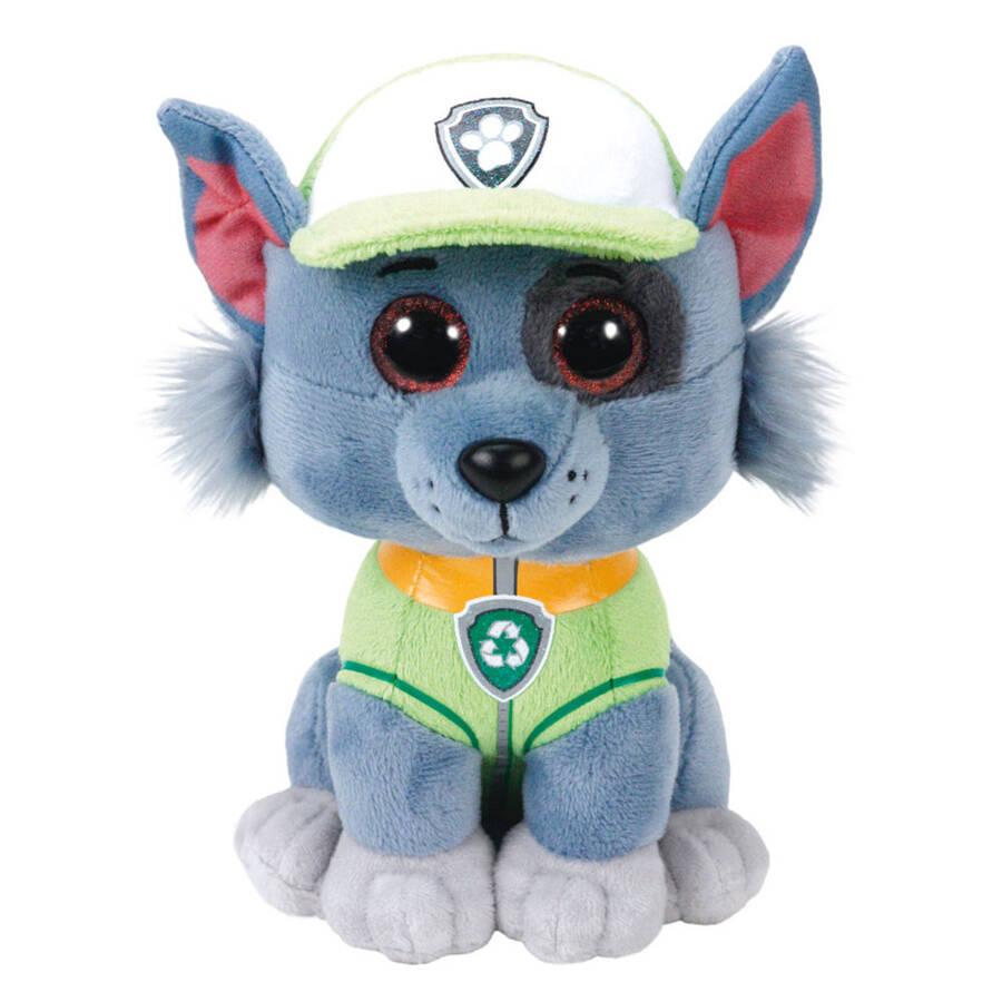 Mega Rocky- Paw Patrol Dog Reg Peluş Oyuncak