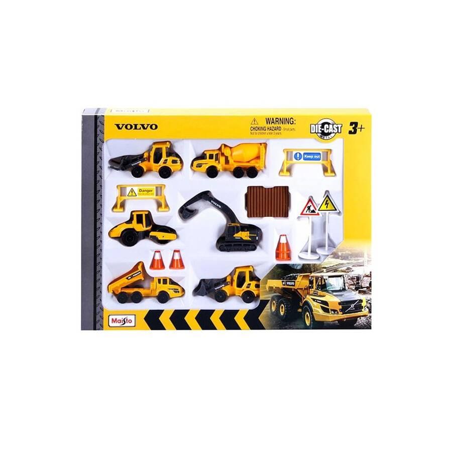 Neco Toys Maisto Volvo 7.5 cm Araçlar Oyun Seti