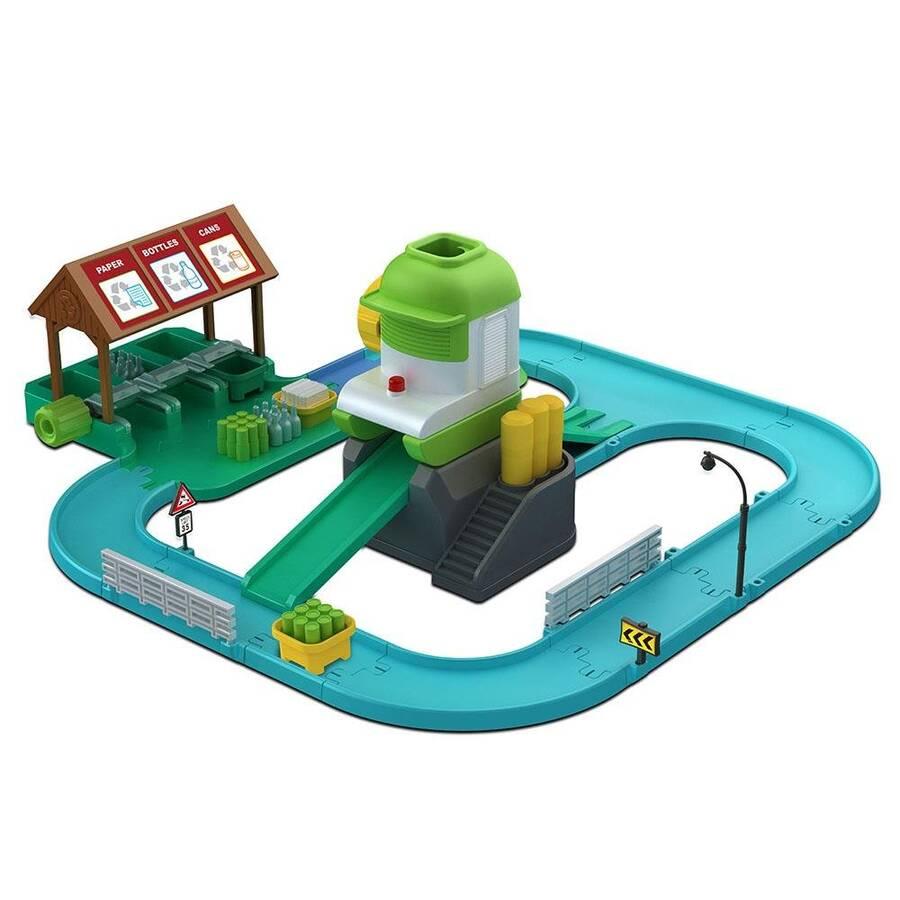 Neco Toys Poli Car 83155 Geri Dönüşüm Oyun Seti
