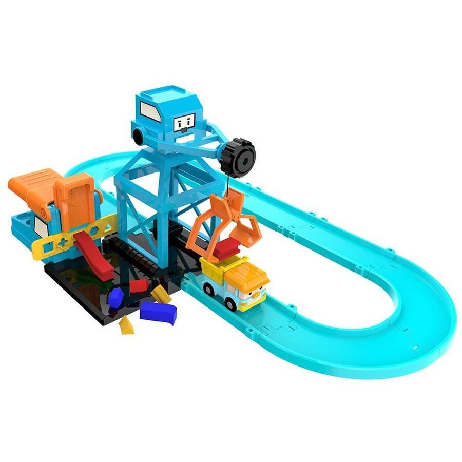 Neco Toys Poli Car Oyun Hamurlu Vinç Oyun Seti