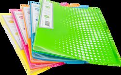 Noki - Noki Seri Sunum Dosyası 30 Yaprak Neon Yeşil