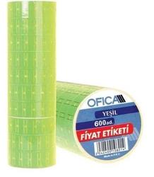 Ofica - Ofica Fiyat Etiketi 600'lü Yeşil