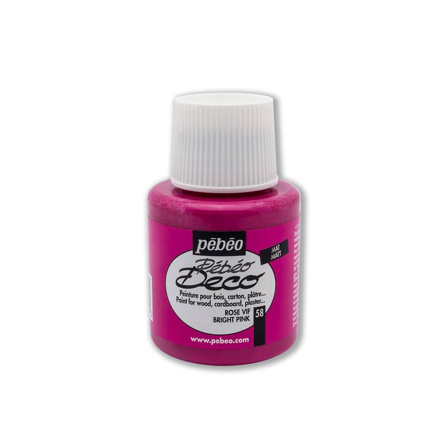 Pebeo Ahşap Boyası 110 ml Bright Pink