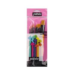 Pebeo - Pebeo Fırça Seti 8'li