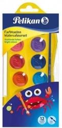 Pelikan Junior Yıkanabilir Sulu Boya 12 Renk - Thumbnail