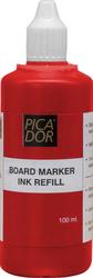 Picador - Picador 196 Board Marker Mürekkebi 100 ml Kırmızı