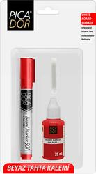 Picador - Picador 501 Doldurulabilir Tahta Kalem Seti Kırmızı