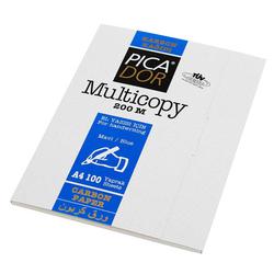 Picador - Picador Karbon Kağıdı Mavi 200 M Sırtlı 100'lü