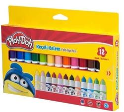 Play-Doh - Playdoh Karton Kutu Keçeli Boya Kalemi 12'li
