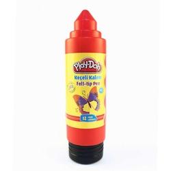 Play-Doh - Playdoh Keçeli Kalem 5 mm 12'li