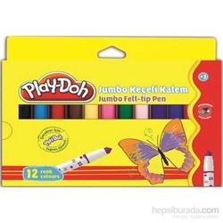 Play-Doh - Playdoh Karton Kutu Keçeli Kalem 12'li