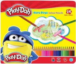 Play-Doh - Playdoh Kuru Boya Teneke Kutu 24'lü