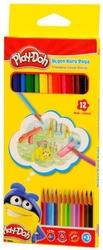 Play-Doh - Playdoh Kuru Boya Üçgen 12'li