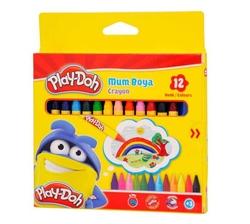 Play-Doh - Playdoh Mum Boya 8mm 12'li