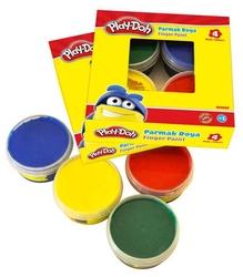 Play-Doh - Playdoh Parmak Boyası 50 ml x 4'lü